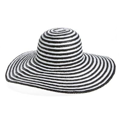 Stripe Floppy Sun Hat
