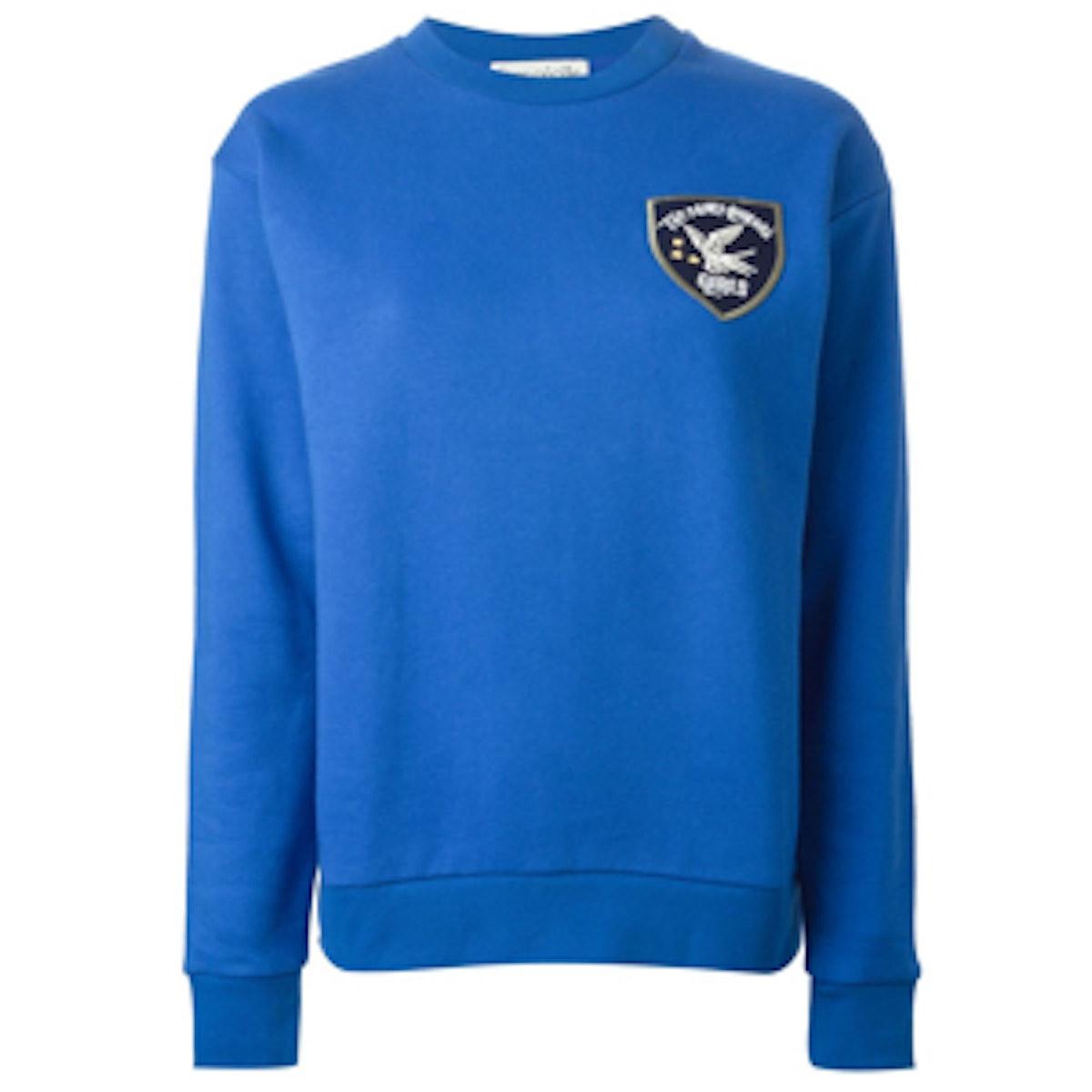 Chest Patch Sweatshirt