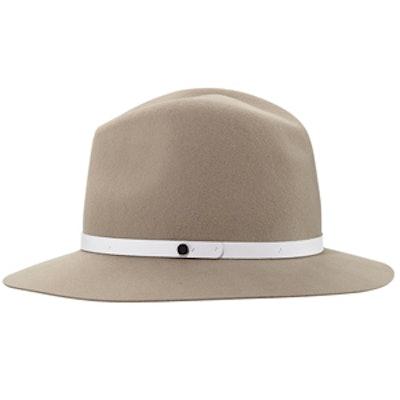 Floppy-Brim Wool Fedora Hat