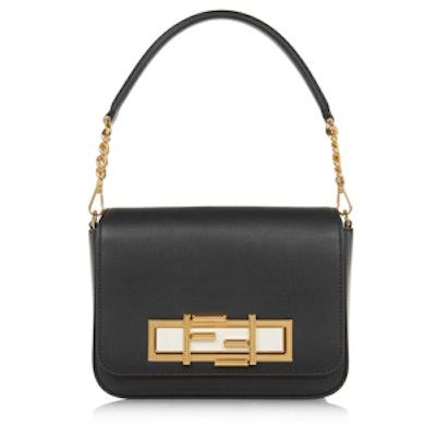 Baguette Leather Shoulder Bag