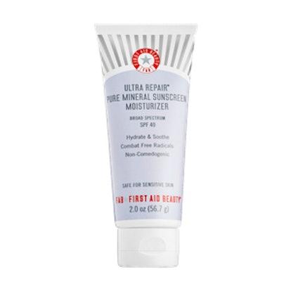 Pure Mineral Sunscreen Moisturizer