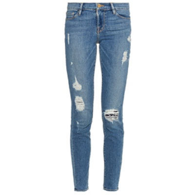 Le Skinny Mid-Rise Jeans