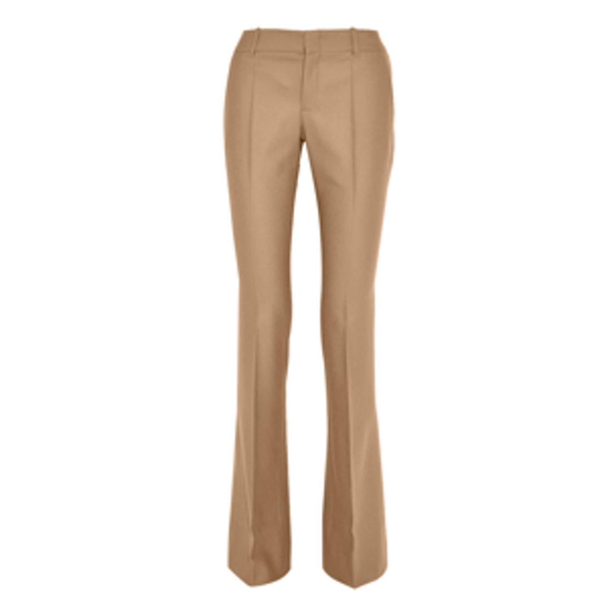 Wool and Cashmere-Blend Flannel Flared Pants