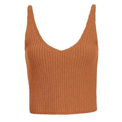 Crop Knit Cami