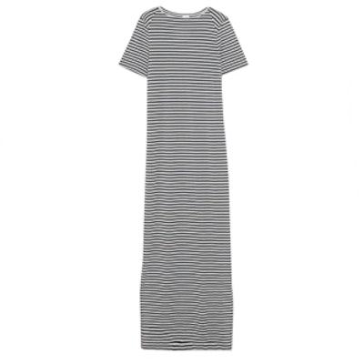 Sofia Striped Jersey Maxi Dress