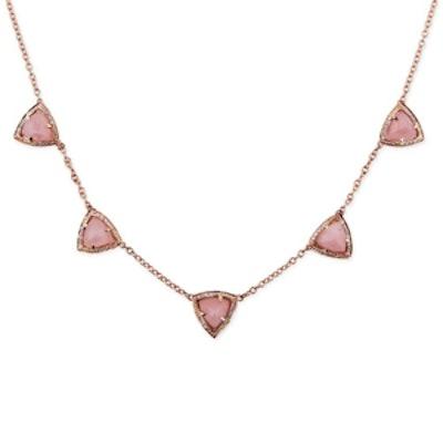 Triple Mini Gemstone Pyramid Necklace