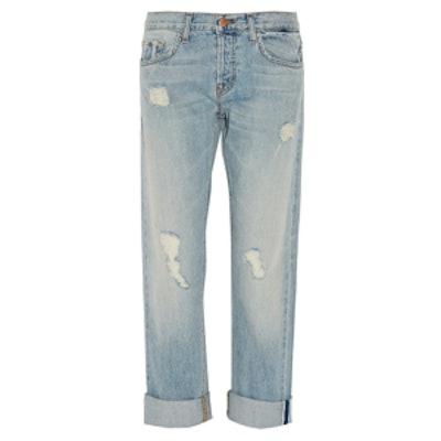 Sonny Distressed Boyfriend Jeans