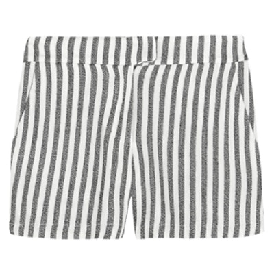 Ani Striped Twill Shorts