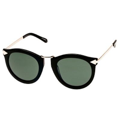 Harvest Black Sunglasses