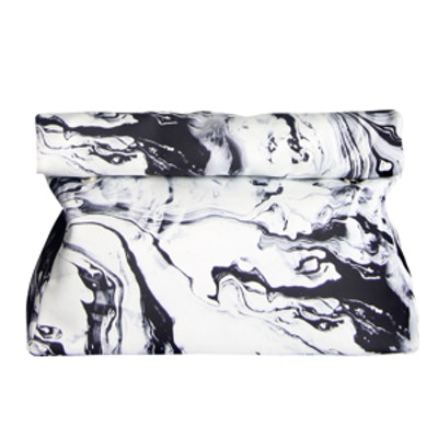 Light Speed Marble Fold-Over Clutch