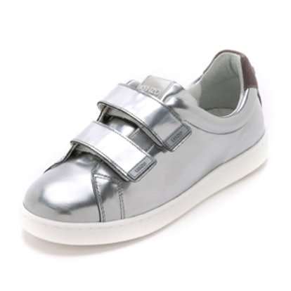 Metallic Velcro Sneakers