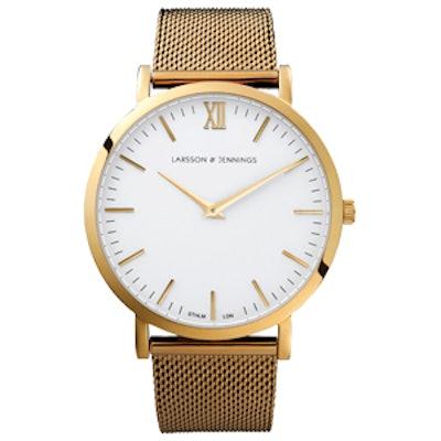 CM Gold Chain Metal Watch