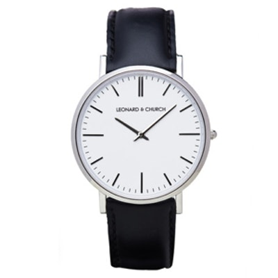 Park Watch in Black and Silver