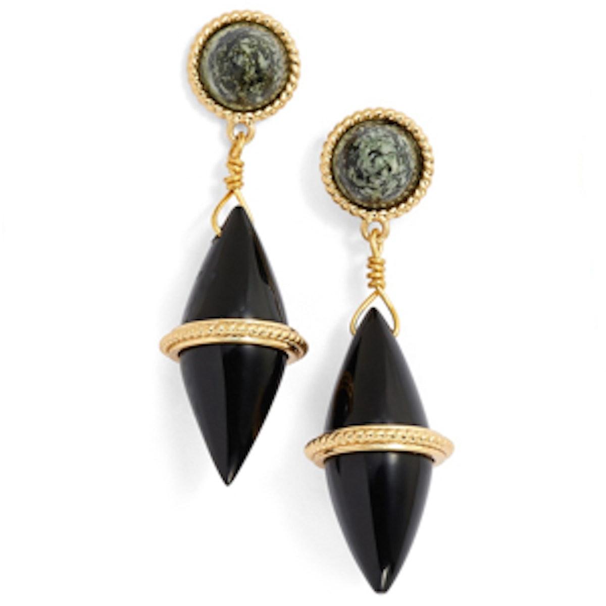 Leyla Stone Drop Earrings