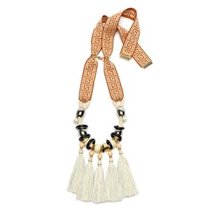 Aztec-Fringe Necklace
