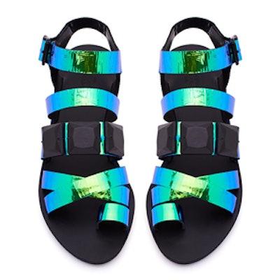 Sedona Black Strappy Sandal