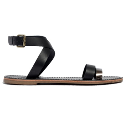 The Sightseer Ankle-Wrap Sandal