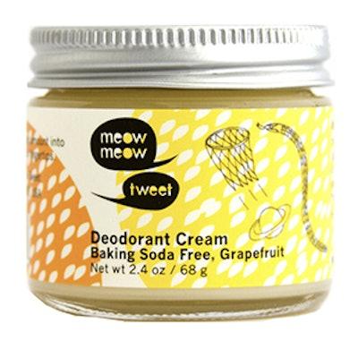 Baking Soda Free Deodorant Cream