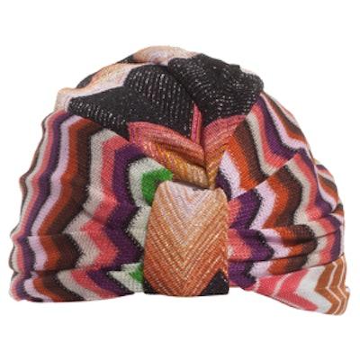 Patchwork Multicoloured Turban