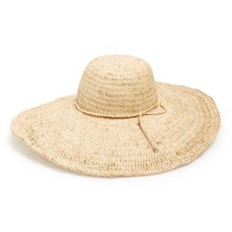 Crochete Raffia Sun Hat