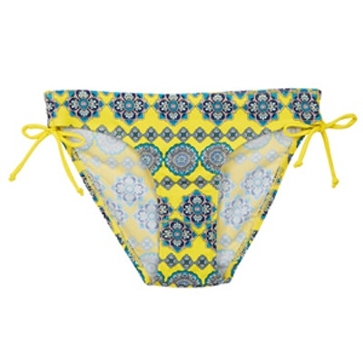 Moroccan Tile Ruched Side Bikini