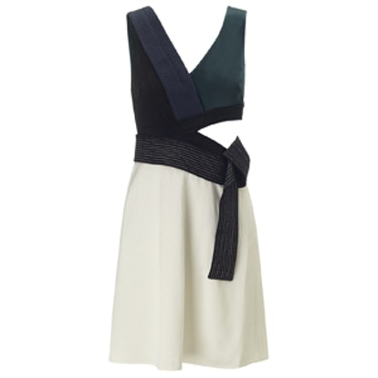 Multi Cut-Out Judo Belt Dress