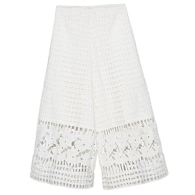 Crochet Crop Culottes Pants