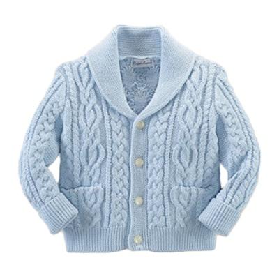 Infant Boys' Shawl Collar Cardigan