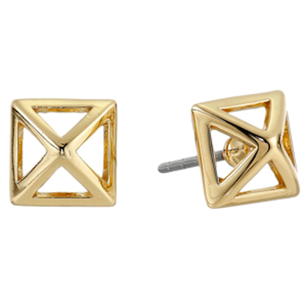 Cutout Stud Earrings