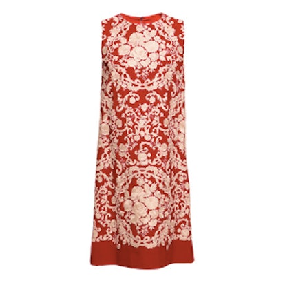 Cady Embroidered Shift Dress