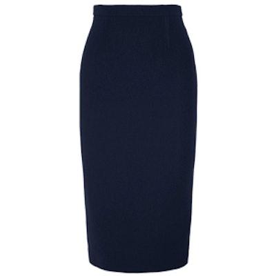 Arreton Wool-Crepe Pencil Skirt