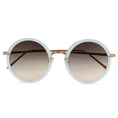 Round Matt Sunglasses