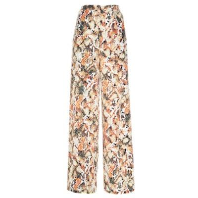 Fifi Printed Silk Pants