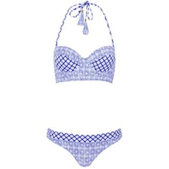 Tea Tile Longline Bikini Set