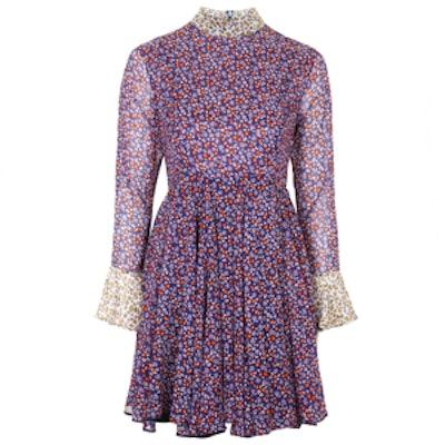 Ottoline Silk Dress By Unique