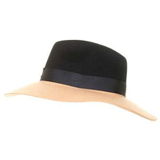 Two-Tone Fedora Hat