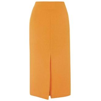 Split Front Midi Skirt
