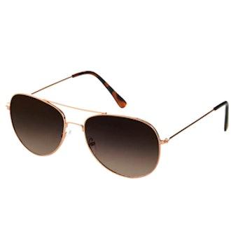 Alice Metal Aviator Sunglasses
