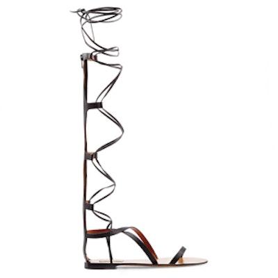 Aphrodite Leather Gladiator Sandals