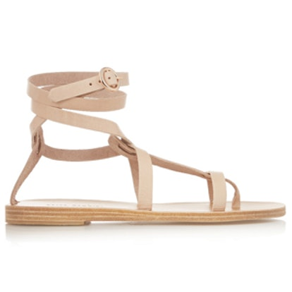 Sandy Clay Leather Sandals