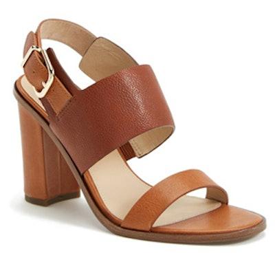 Baris Leather Slingback Sandal