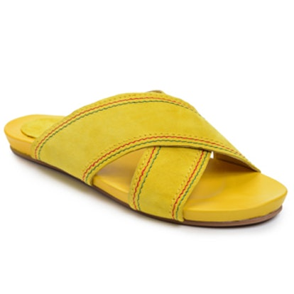Reggae Fiona Sandal in Yellow