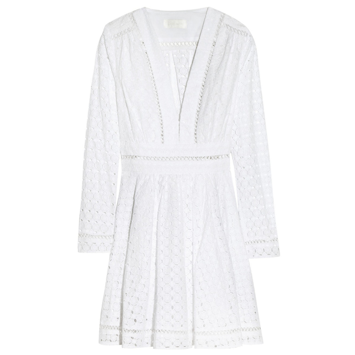 Ryker Broderie Anglaise Cotton Dress