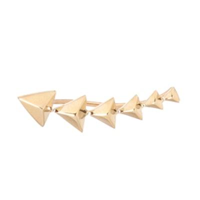 Triangle Pyramid Ear Shield