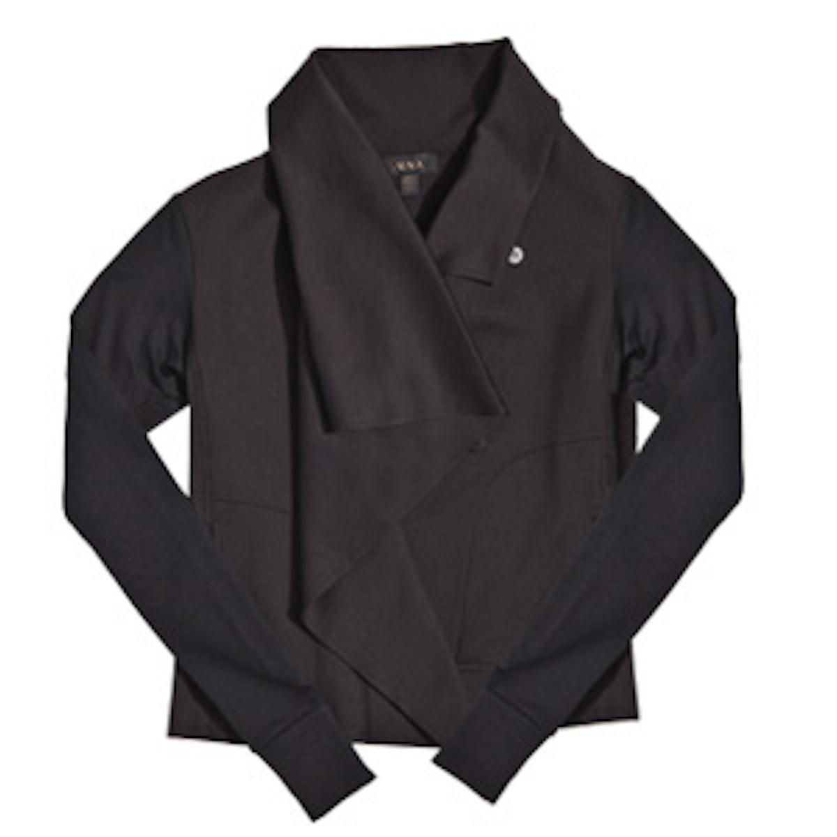 Sophisticated Draped Jacket