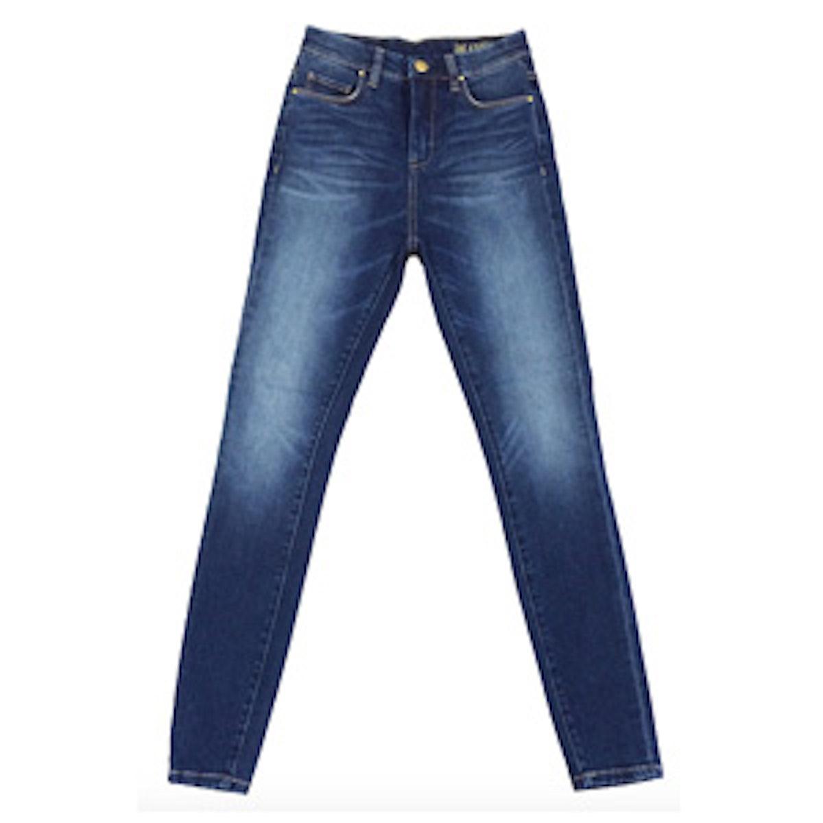 High Rise Skinny Jeans in Bae Watch