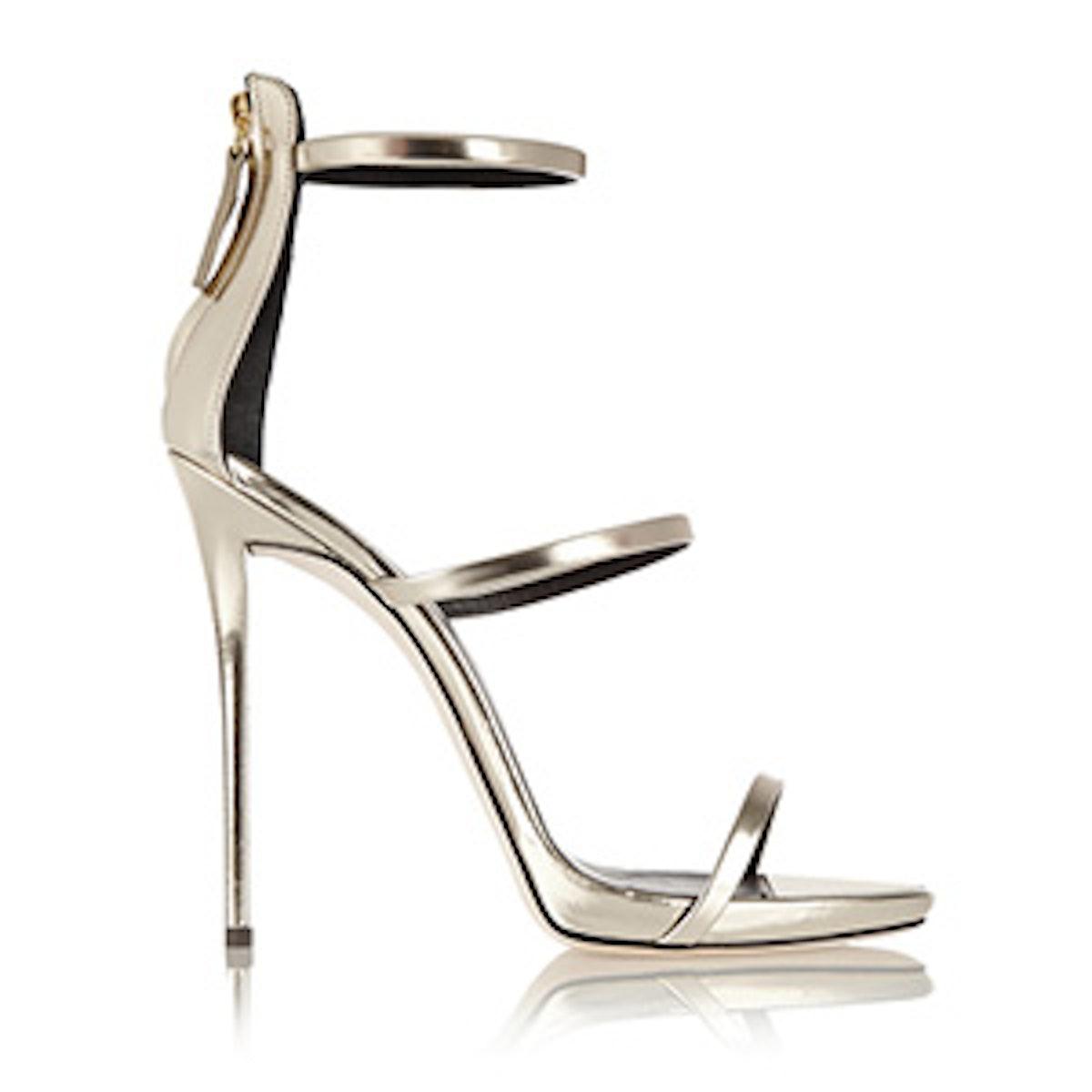 Coline Metallic Sandals