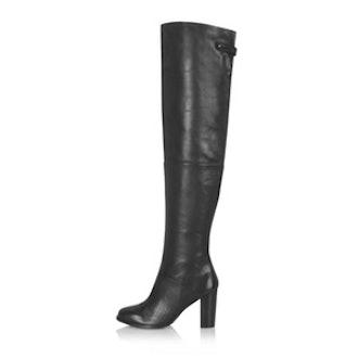 Bell Thigh High Boots