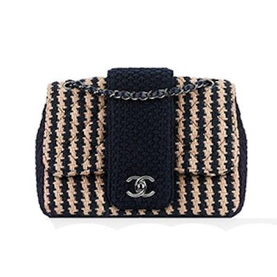 Tweed Flap Bag