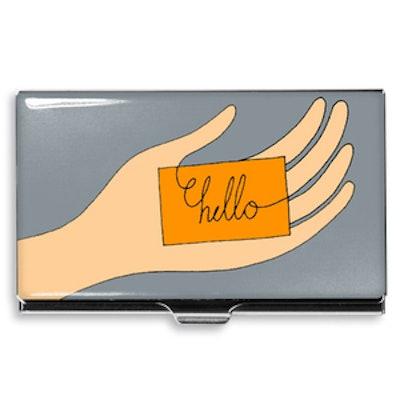 Hello Card Case